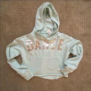 New Justice Dance Crop Sweatshirt